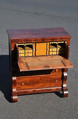 Empire Mahogany And Birds Eye Maple Butlers Desk