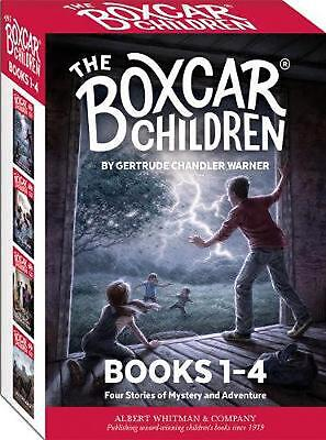 The Boxcar Children Books 1-4 by Gertrude Chandler Warner (English) Paperback Bo