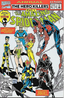 Amazing Spider-Man Comic Book King Size Annual #26, Marvel 1992 NEAR MINT