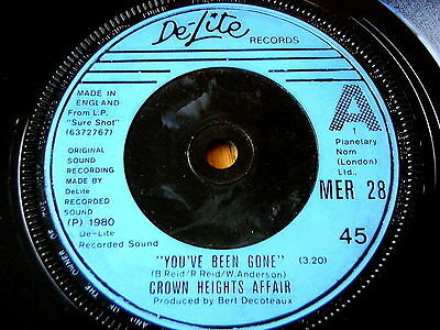 """Crown Heights Affair - You've Been Gone / Far Out  7"""" Vinyl"""