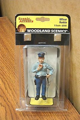 Woodland Scenics Officer Dunkin G Scale Figure