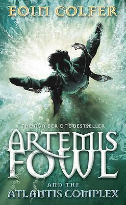 Artemis Fowl and the Atlantis Complex, Eoin Colfer, New