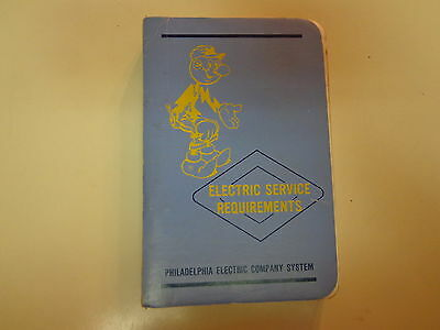 Electric Service Requirements Manual 1975 Philadelphia Electric Company PECO