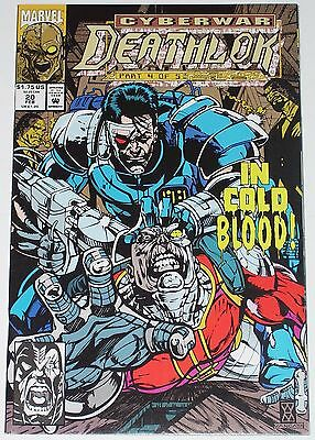 Deathlok #20 from Feb 1993 VF/NM to NM