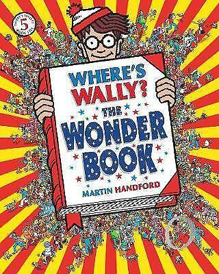 Where's Wally? The Wonder Book,New Condition