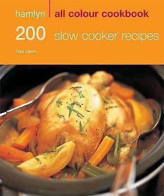 Hamlyn All Colour Cookbook 200 Slow Cooker Recipes,New Condition