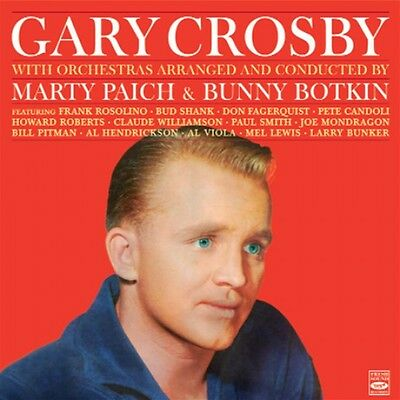 Gary Crosby: BELTS THE BLUES + THE HAPPY BACHELOR (2 LPS ON 1 CD)