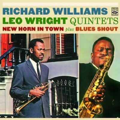Richard Williams & Leo Wright: New Horn In Town + Blues Shout  1 Lp & ½ On 1 Cd