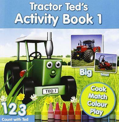 Tractor Ted's Activity Book: 1 by Heard, Alexandra   Paperback Book   9780956499