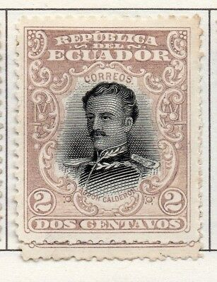 Ecuador 1899-1908 Early Issue Fine Mint Hinged 2c. 138006