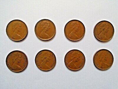2p New Pence Coins - Choose from 1971 1975 1976 1977 1978 1979 1980 1981