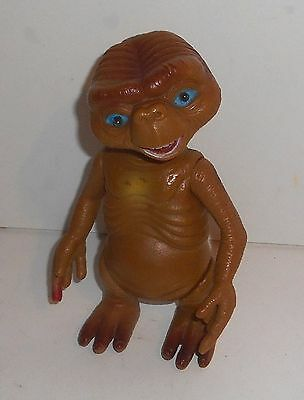 "Vintage E.T. Extra Terrestrial by Universal ~ PLASTIC FIGURE ~ 7"" Tall - (A001)"