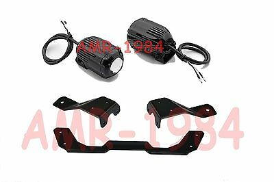 Set Brackets Specifications+Spotlights Led Off-Road Honda Cross Tourer 12->