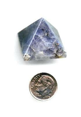 Iolite Gemstone Pyramid - #A