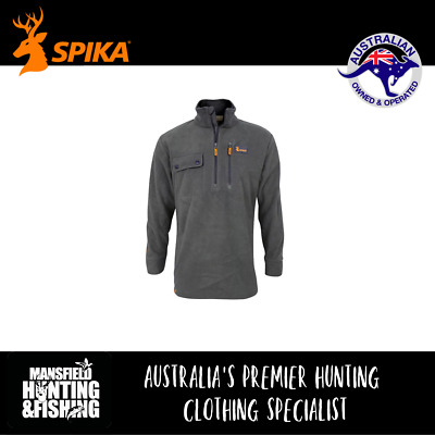 Spika Olive Highpoint Jumper, P-109, Waterproof & Windproof Top, Hunting Jumper