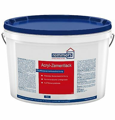 Remmers Acrylic cement varnish 15L silver grey Impermeable & resistant to