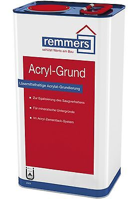 Remmers Acrylic base 10 L Primer under Remmers Acrylic cement varnish