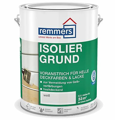 Remmers Insulating primer 10,0 L white Wood Primer Blocking reason Opaque lz-b
