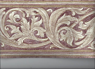 Wallpaper Border Architectural Moulding Scrolls New Arrival Classic Victorian