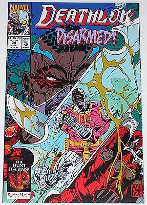 Deathlok #24 from June 1993 VF+ to NM-
