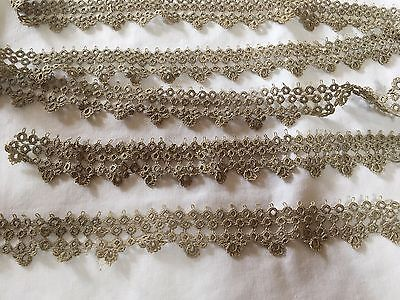 Vintage Tatting Handmade Wide Antique Rare Lace!! Gorgeous!! Very Fine Mint!!