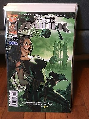 TOMB RAIDER #44! ADAM HUGHES Variant Lara Croft! Top Cow Comics! SEE SCANS! WOW!