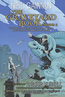 The Graveyard Book Graphic Novel Volume 2 - Library Binding NEW Neil Gaiman (Au