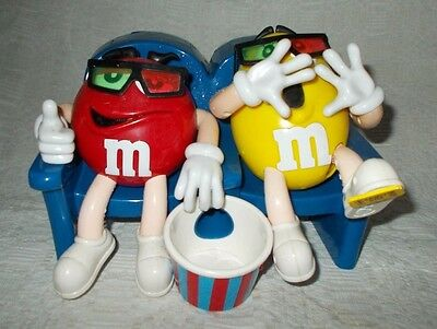 M & M's At The Movies in 3-D Collectible Candy Dispenser