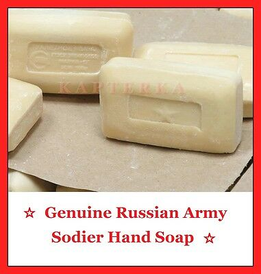 ☆ Original Russian Army Soldier Hand Soap with Star, New! ☆