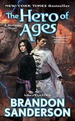 NEW The Hero of Ages By Brandon Sanderson Paperback Free Shipping