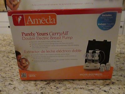 NEW Ameda Purely Yours Carry All Double Electric Breast Pump