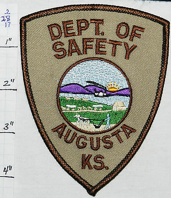 Kansas, Augusta Dept Of Safety Fire Police Patch