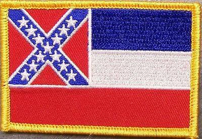 Embroidered USA State Patch Mississippi NEW flag