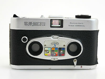 View-Master #9749 mit Rodenstock Trinar 2,8/20mm, 3D stereo camera  so093