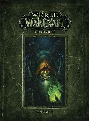 World of Warcraft Chronicle Volume 2 by Blizzard Entertainment Hardcover Book