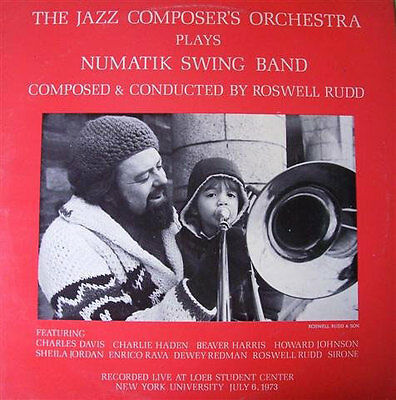 charlie haden-jazz composers orchestra plays numatik swing band [vinyl lp],Roswe