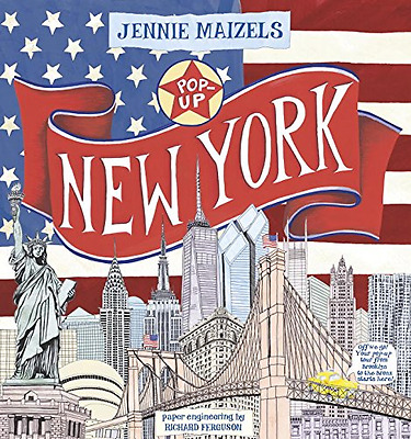 Pop-Up New York - Hardcover NEW Jennie Maizels  2014-07-22