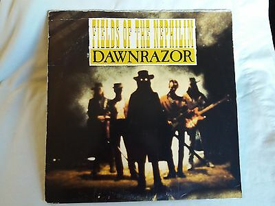 FIELDS OF THE NEPHILIM Dawnrazor US LP 1987 vg-/g