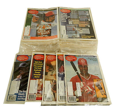 Lot of (40) 1994 1995 1996 Sports Collectors Digest Back Issues (many sealed)