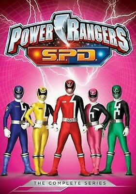 Power Rangers S.p.d.: the Complete Series - DVD Region 1 Free Shipping!