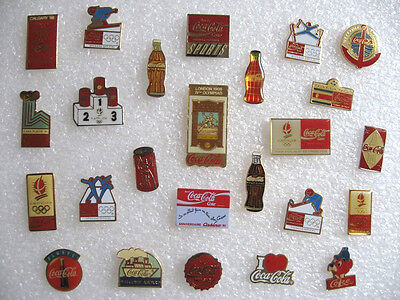Lot 25 Pin's Différents Coca Cola Coke / Boisson Soda / Pins Pin #19