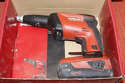 (MA2) Hilti MODEL SD 4500-A18 Cordless Driver And Battery