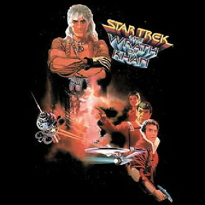Star Trek II: The Wrath of Khan Characters T-Shirt NEW