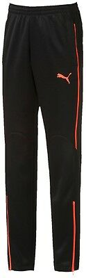 Puma EvoTRG Tech Junior Training Pants - Black