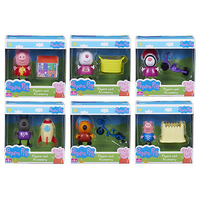 Peppa Pig Figure & Accessory Choice of Sets NEW (One Supplied)