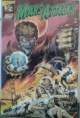 Mars Attacks 1/2 Topps Comics