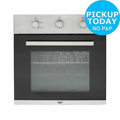Bush BSOEF Single Electric Fan Oven - Built In - Stainless Steel. From Argos