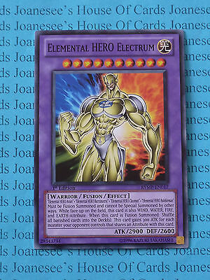 Elemental HERO Electrum RYMP-EN017 Common Yu-Gi-Oh Card 1st Edition New