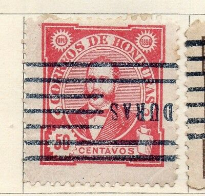 Honduras 1896 Early Issue Fine Used 50c. 138896