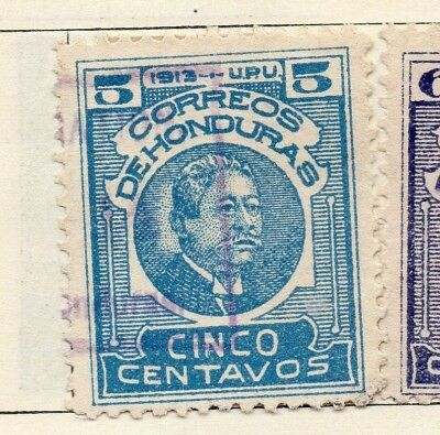 Honduras 1913 Early Issue Fine Used 5c. 138936